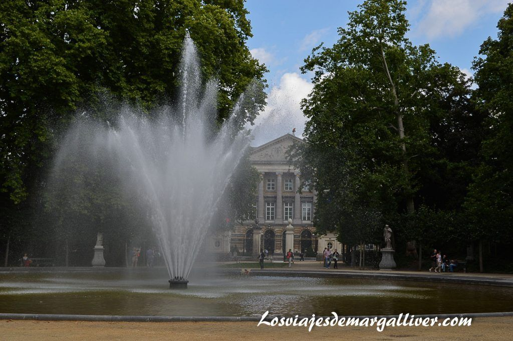 El parque de bruselas o parque verde de Bruselas - Los viajes de Margalliver